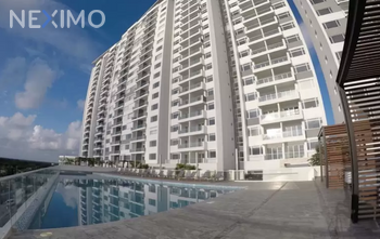 NEX-9985 - Departamento en Renta, con 2 recamaras, con 2 baños, con 1 medio baño, con 118 m2 de construcción en Cancún Centro, CP 77500, Quintana Roo.