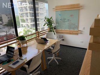 NEX-34030 - Oficina en Renta, con 1 recamara, con 2 baños, con 13 m2 de construcción en Del Valle, CP 66220, Nuevo León.